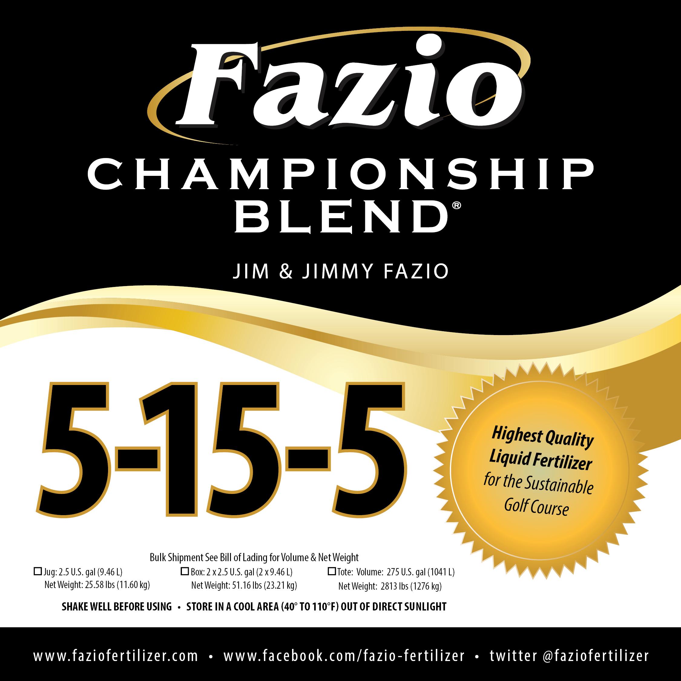 Fazio Championship Blend 5-15-5